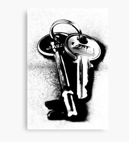 Keys Canvas Print