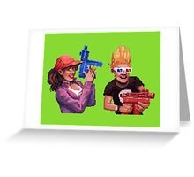 Zombies Ate My Neighbours Greeting Card
