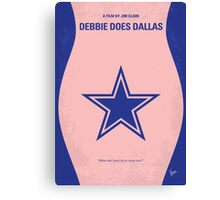 No302 My DEBBIE DOES DALLAS minimal movie poster Canvas Print