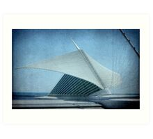 MAM...Milwaukee Art Museum...Wisconsin ©  Art Print