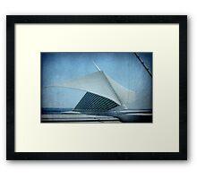 MAM...Milwaukee Art Museum...Wisconsin ©  Framed Print