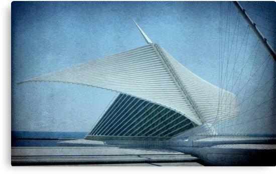 MAM...Milwaukee Art Museum...Wisconsin ©  by Dawn M. Becker