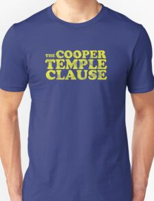 The Cooper Temple Clause T-Shirt