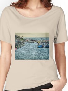 Newquay Harbour At High Tide Women's Relaxed Fit T-Shirt