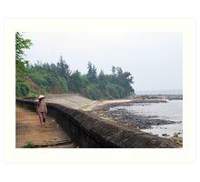 Vietnam 2011 away from the city Art Print