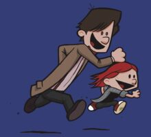 Amy & Doc (Dr Who / Calvin & Hobbes)