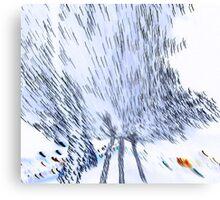 Amorphous flight Canvas Print