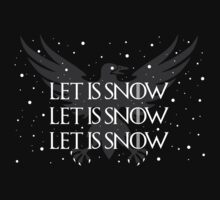 Let It Snow Tee  by omgcoolstuff