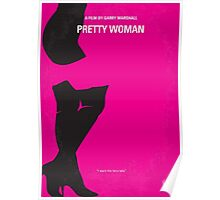 No307 My Pretty Woman minimal movie poster Poster