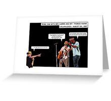 Ordinary Heroes #3 (Concert Series) Greeting Card