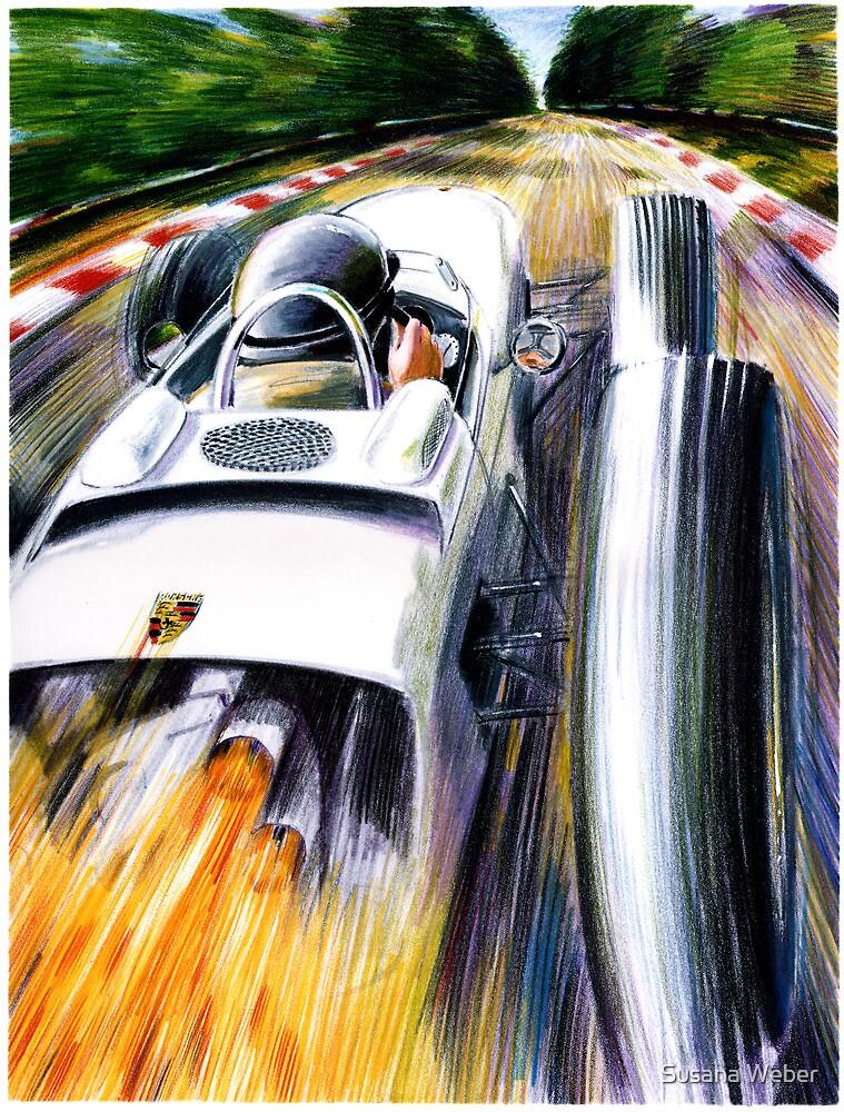 1962 Porsche Type 804 Formula 1 Race Car by Susana Weber