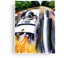 1962 Porsche Type 804 Formula 1 Race Car Canvas Print
