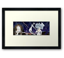 PART ONE - The White Queen Enters the field... Framed Print