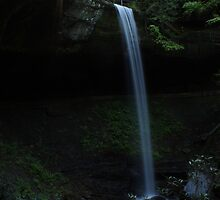 Sunburst over Broke Leg Falls by Kent Nickell