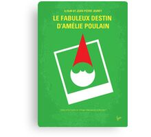 No311 My Amelie minimal movie poster Canvas Print