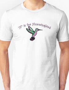 H is for Hummingbird T-Shirt