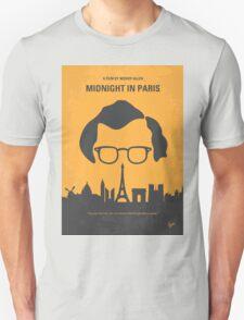 No312 My Midnight in Paris minimal movie poster Unisex T-Shirt