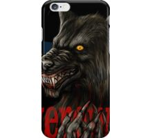 werewolf mirror  iPhone Case/Skin