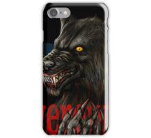 werewolf mirror  iPhone Case/Skin