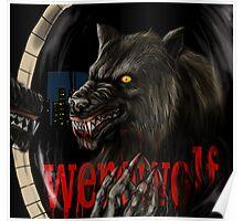 werewolf mirror  Poster