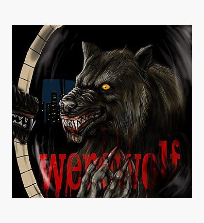 werewolf mirror  Photographic Print