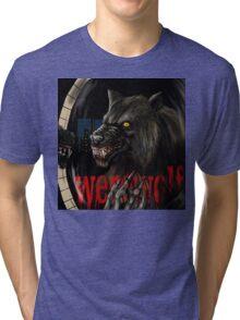 werewolf mirror  Tri-blend T-Shirt