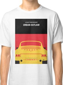 No316 My URBAN OUTLAW minimal movie poster Classic T-Shirt