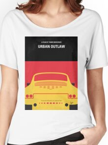 No316 My URBAN OUTLAW minimal movie poster Women's Relaxed Fit T-Shirt