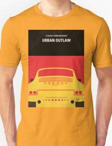 No316 My URBAN OUTLAW minimal movie poster Unisex T-Shirt