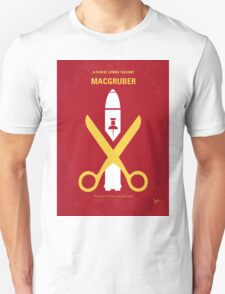 No317 My MacGruber minimal movie poster T-Shirt