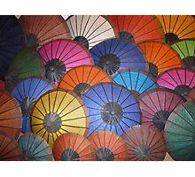 .umbrellas Photographic Print