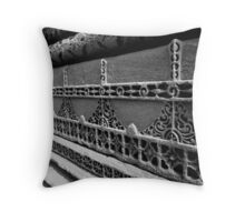 Carvings & Patterns Throw Pillow