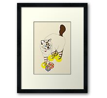 Eat . Play . Love Framed Print