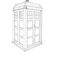 Tardis - Simple by KiGee