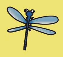 Bug blue dragonfly Kids Clothes