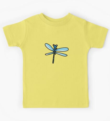 Bug blue dragonfly Kids Tee