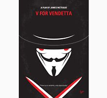 No319 My V for Vendetta minimal movie poster Unisex T-Shirt