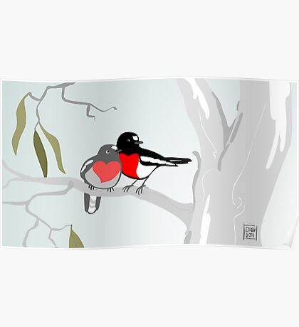 Scarlet Robins in Love Poster