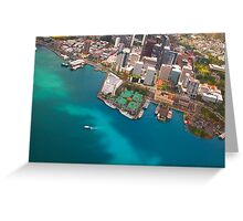 Honolulu City, Oahu, Hawaii Greeting Card