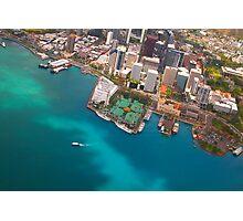 Honolulu City, Oahu, Hawaii Photographic Print