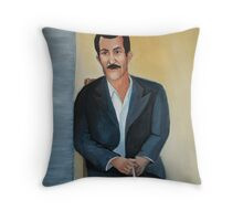 The Cigarette Throw Pillow