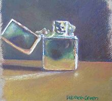 vintage zippo lighter by Deborah Green