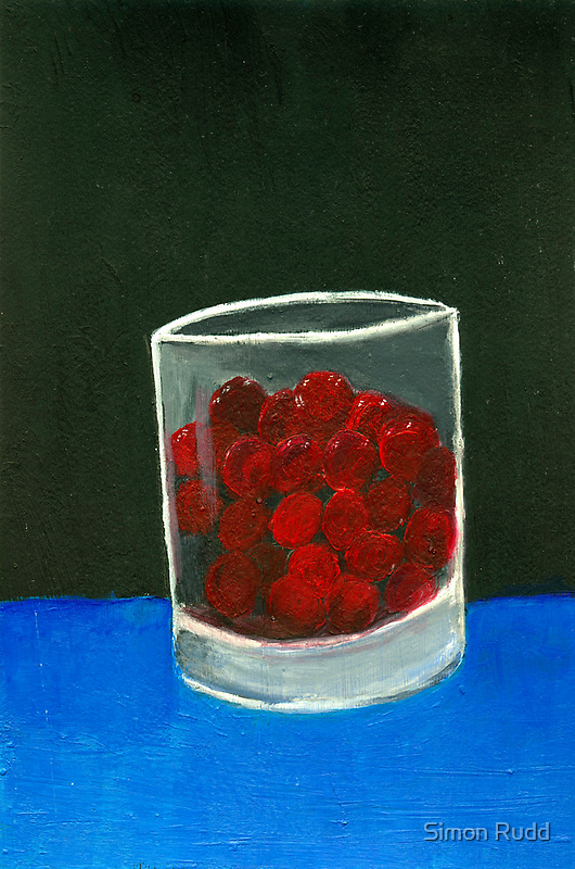 Glass of sweets by Simon Rudd