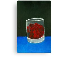 Glass of sweets Canvas Print