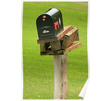 Last Mail Box Standing.................. Poster