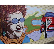 Lady Mural Photographic Print