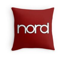 Wonderful Nord  Synth Throw Pillow