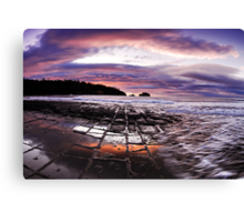 Pavement Wash Canvas Print