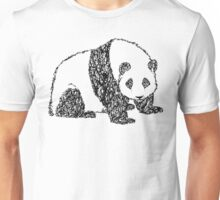 Twisty Twirly Giant Panda  Unisex T-Shirt
