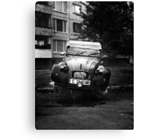 Citroen 2 Canvas Print